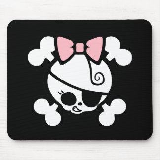 Dolly Bow Mouse Mat