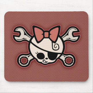 Dolly Cross Wrench Mouse Pad