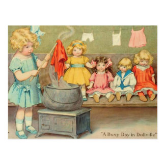 Dolly Laundry Post Cards