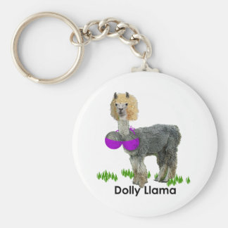 Dolly Llama Key Ring