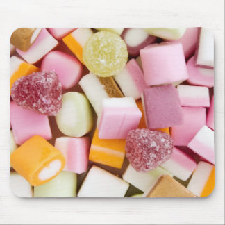 Dolly mixtures background mouse pad