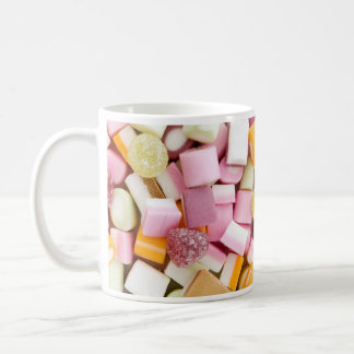 Dolly mixtures background mug