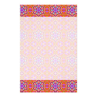 Dolly Mixtures Candy Fractal Art Pattern Stationery