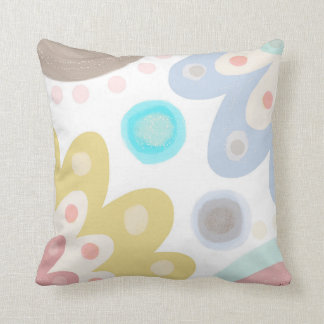Dolly Mixtures. Large bold daisy flower art design Cushion