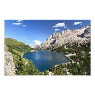 Dolomites - Fedaia lake and pass Stationery