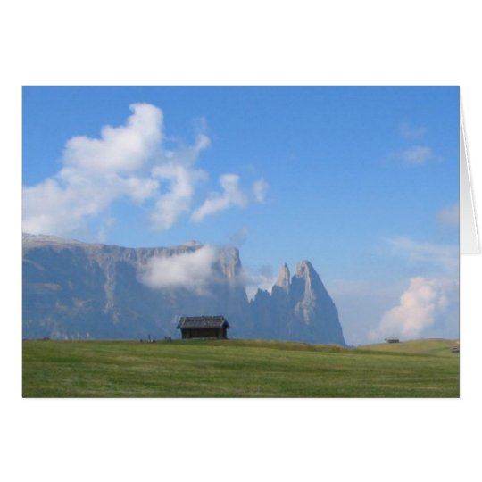 Dolomites Italy Greeting Card