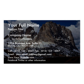 Dolomites, Venetian region, northern Italy Business Cards