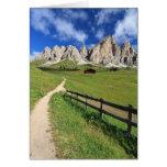 Dolomiti - Cir group Greeting Card