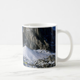 Dolomiti mountains, the Alps Winter Coffee Mug
