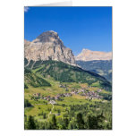Dolomiti - Val Badia Note Card