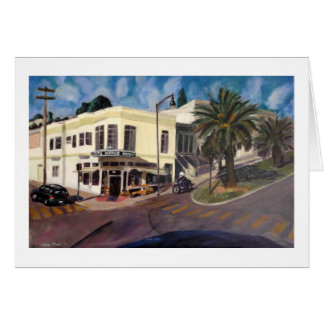 """Dolores at 22nd Street"" by Trina Chow Card"