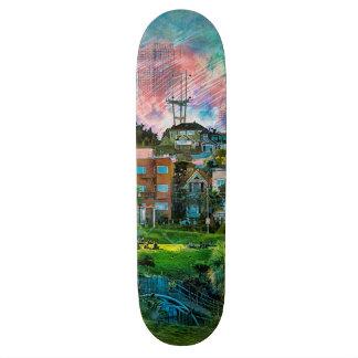 Dolores Park AKA Hipsters Wonderland San Francisco 21.6 Cm Skateboard Deck
