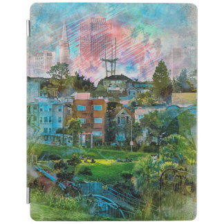 Dolores Park AKA Hipsters Wonderland San Francisco iPad Cover