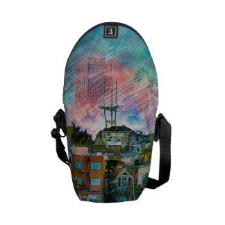 Dolores Park AKA Hipsters Wonderland San Francisco Messenger Bags
