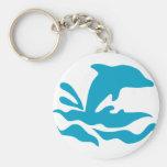 dolphin_2 key chain