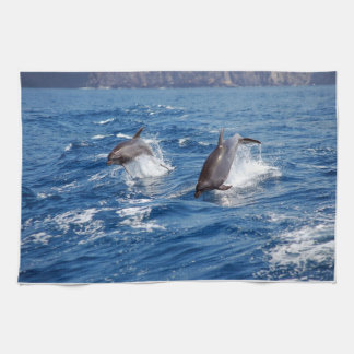 Dolphin Adventure Tea Towel