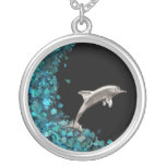 Dolphin and Paua Shell necklace