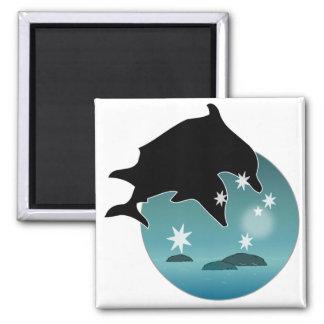 Dolphin Aussie Icon Magnet