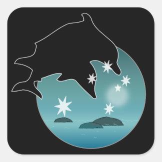 Dolphin Aussie Icon Stickers