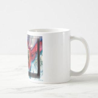 dolphin basic white mug