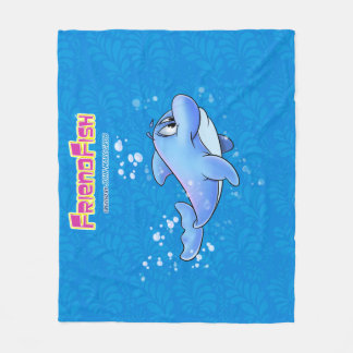 Dolphin Blanket cute cartoon