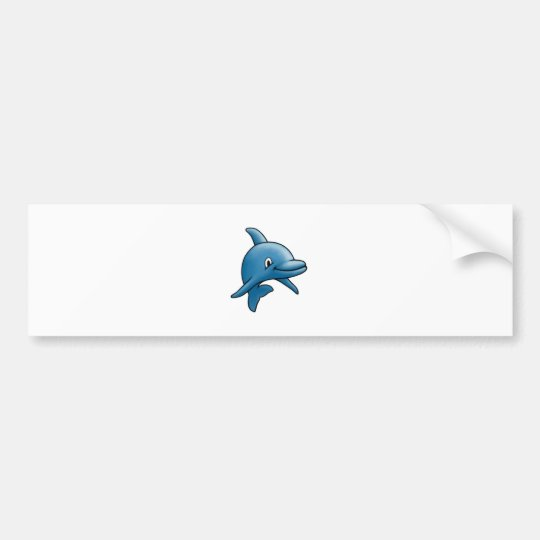 Dolphin Bumper Sticker