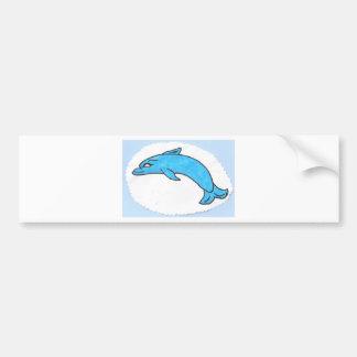 dolphin bumper sticker