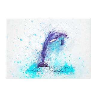 Dolphin Canvas Print
