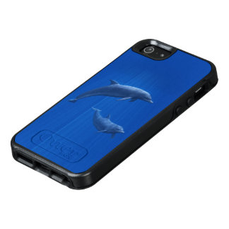 Dolphin Couple OtterBox iPhone SE Case