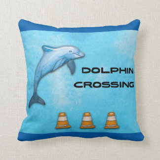 Dolphin Crossing Cushion