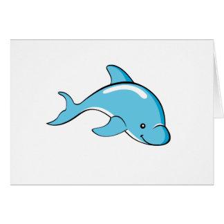 Dolphin Custom colour card