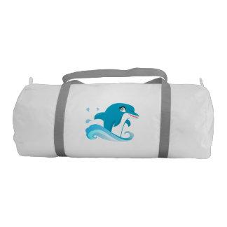 Dolphin Design Gym Swim Bag