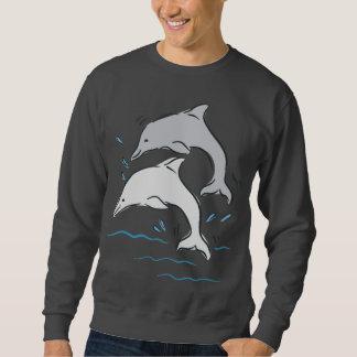 Dolphin Dolphins Marine Mammals Ocean Sweatshirt