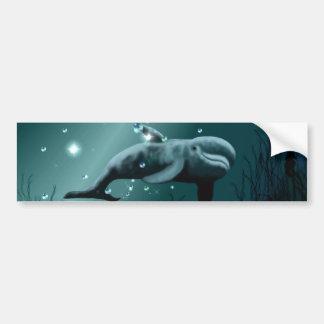 Dolphin Dream Bumper Sticker