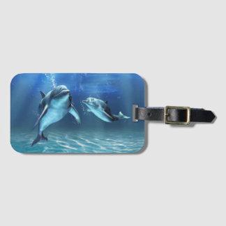 Dolphin Dream Luggage Tag