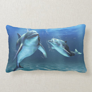 Dolphin Dream Lumbar Pillow