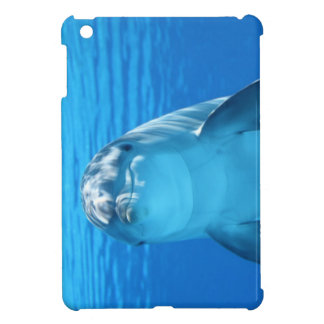 Dolphin face up close case for the iPad mini