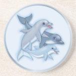 Dolphin Family Coaster