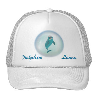 Dolphin In A Bubble Cap