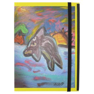 """dolphin in sunset iPad pro 12.9"""" case"""