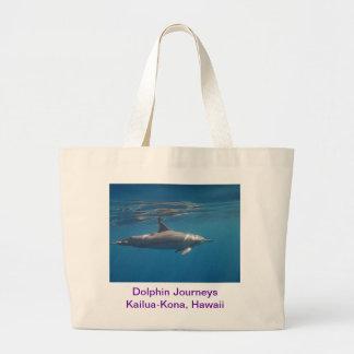 Dolphin Journeys Canvas Bag