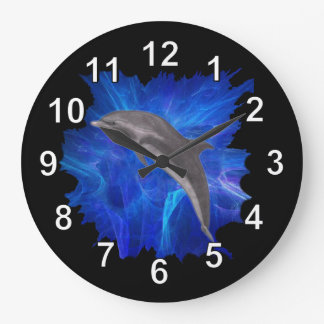 Dolphin Leaping Clock