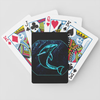 Dolphin (Light Dolphin) Bicycle Playing Cards