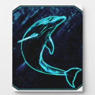 Dolphin (Light Dolphin) Display Plaque