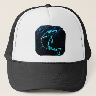 Dolphin (Light Dolphin) Trucker Hat