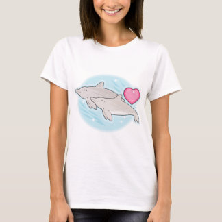 dolphin love T-Shirt