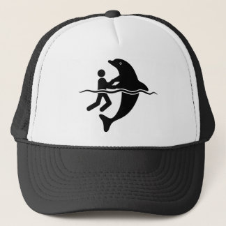 Dolphin Lover Trucker Hat