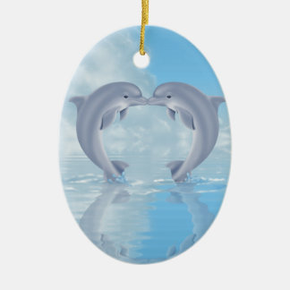 Dolphin Lovers Gift Ideas Christmas Ornament