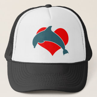 Dolphin Luv Trucker Hat