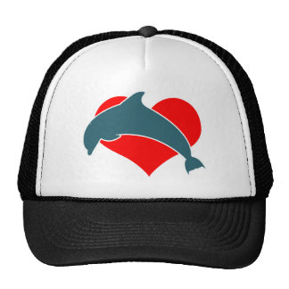 Dolphin Luv Trucker Hat